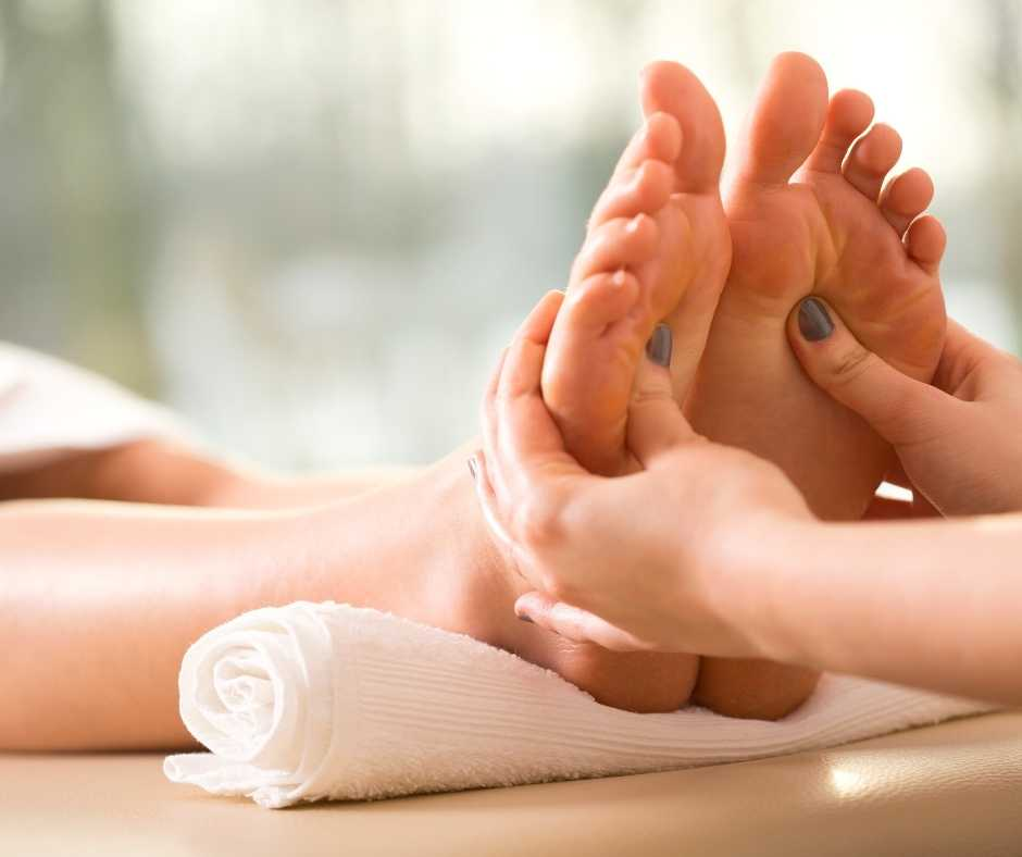 Foot Reflexology from Northwich Foot Clinic