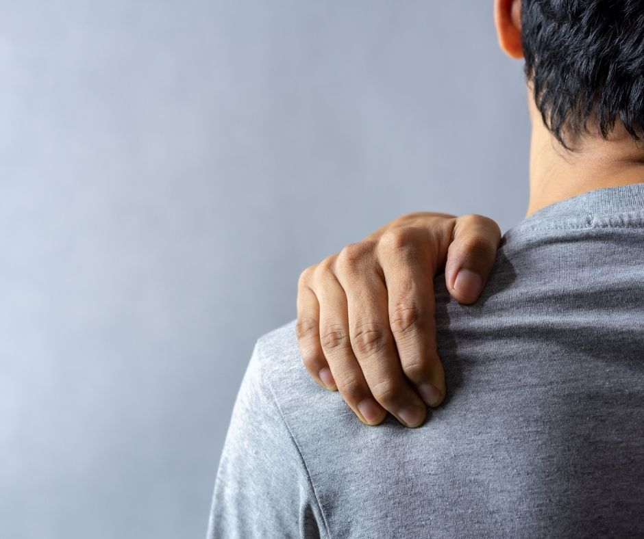Shoulder pain relief, back pain, MSK, Northwich Foot Clinic