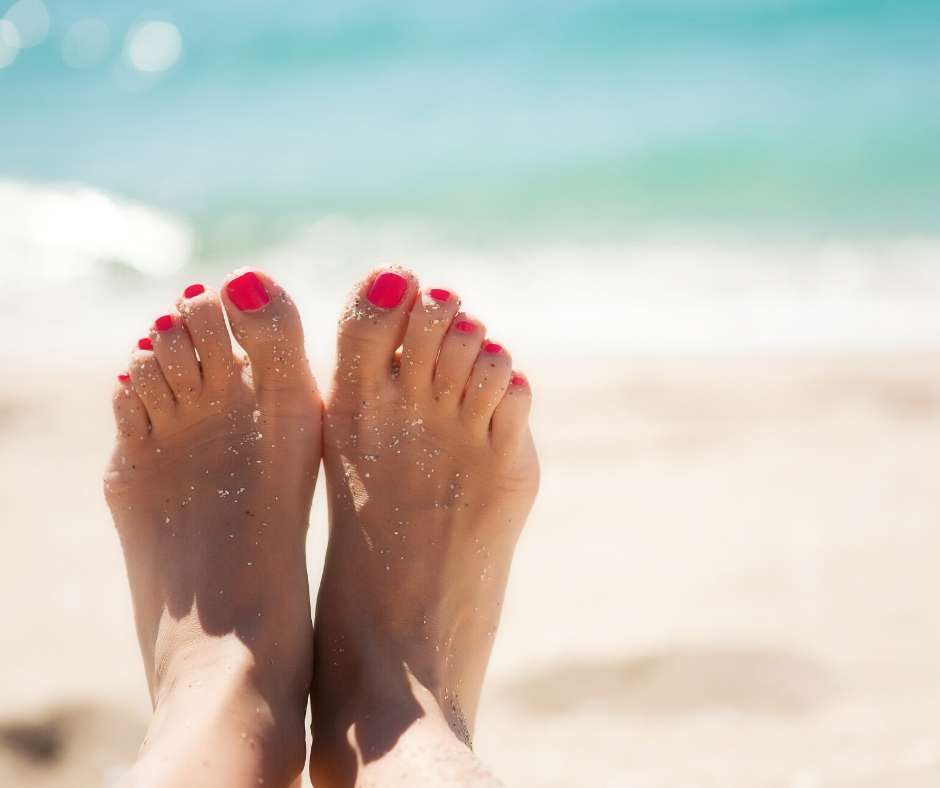 Omega laser verruca treatment from your local podiatry clinic